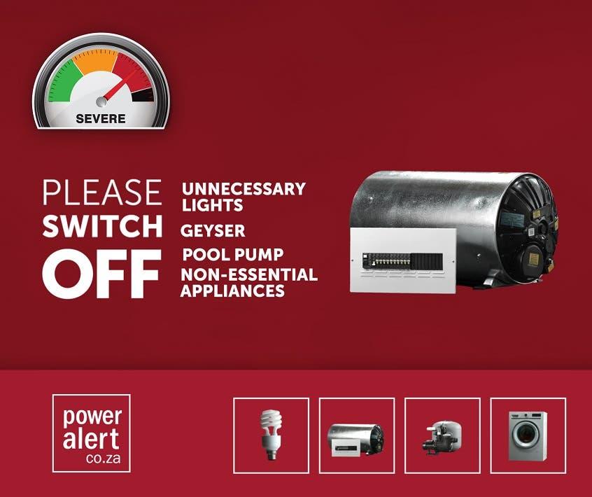 power alert south africa