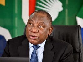 president cyril ramaphosa backlash