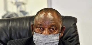 president cyril ramaphosa sue government gcis