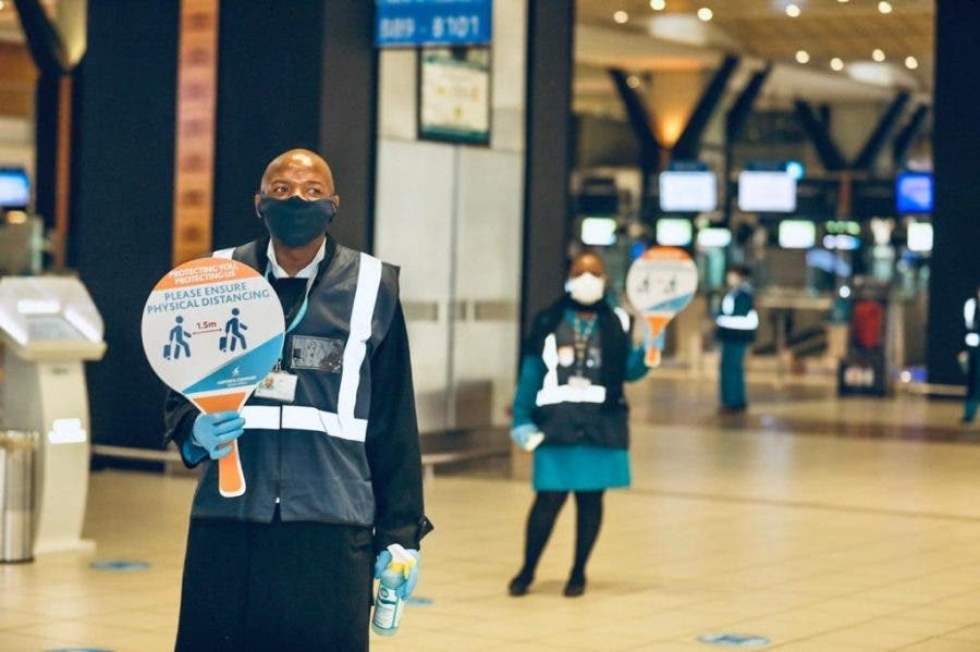 Airport Social Distancing