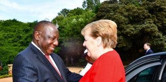 South African president Cyril Ramaphosa and German chancellor Angela Merkel have shown good leadership in the fight against COVID-19. GCIS
