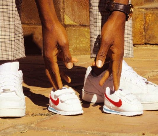 caster semenya baby expecting pregnancy shoes