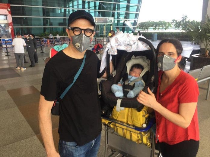 south africans including baby repatriated from india to south africa