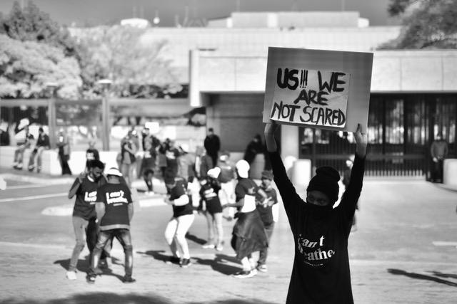 eff protest us embassy pretoria