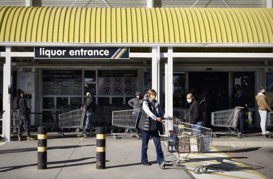 liquor store entrance south africa