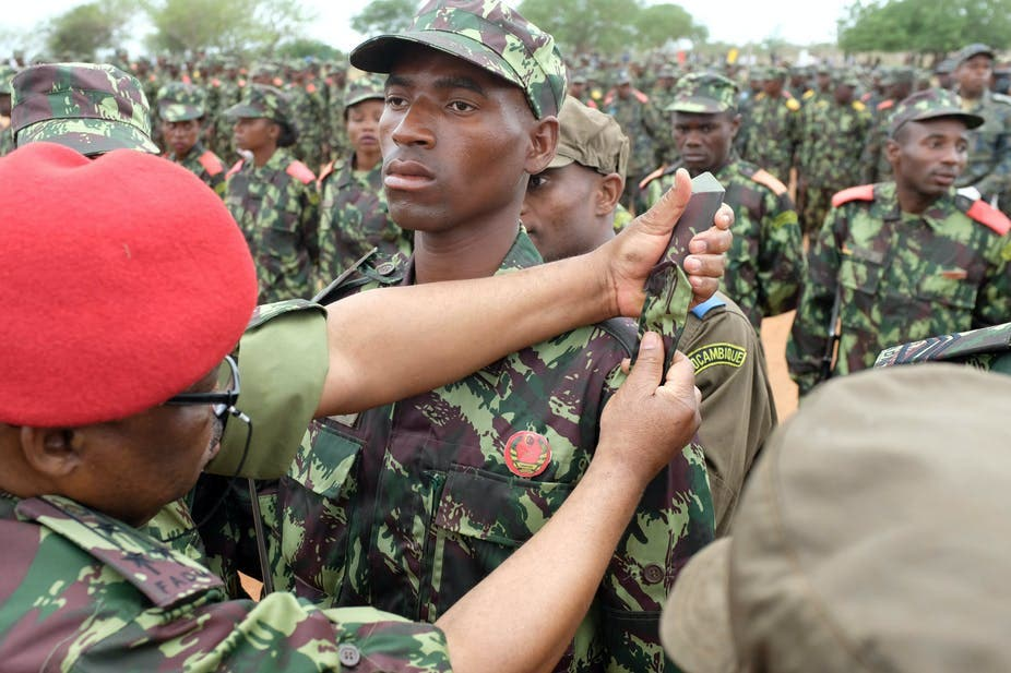 mozambique soldiers