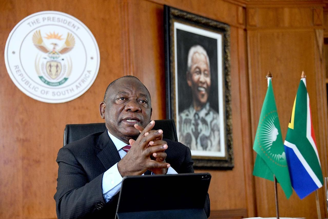 Watch Live President Ramaphosa Addresses The Nation Sapeople Worldwide South African News