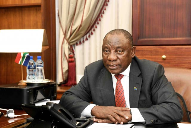 ramaphosa wishes victims covid