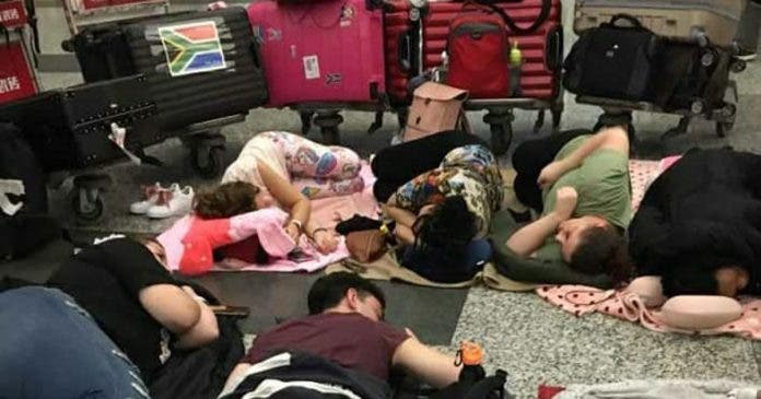 south-africans-sleeping-airport-china