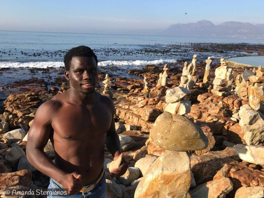 stone sculptures kalk bay sipho