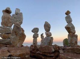 stone sculptures kalk bay