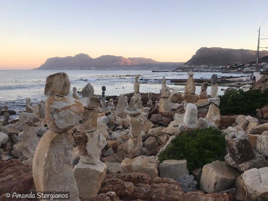 stone sculptures kalk bay