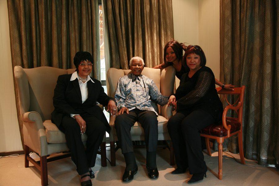 Nelson Mandela Zindzi Mandela