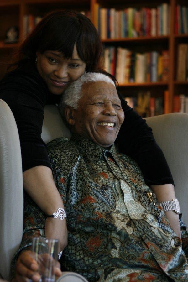 Zindzi Mandela, Nelson Mandela
