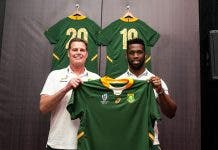 Rassie Erasmus Siya Kolisi Stronger Together Springboks