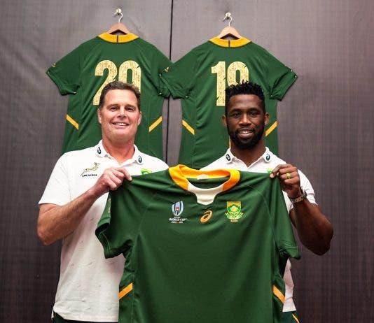 Rassie Erasmus Siya Kolisi Stronger Together Springboks
