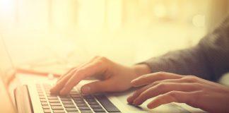 media journalist keyboard