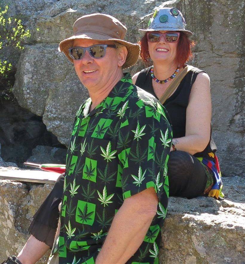 Dagga advocates Julian Stobbs and Myrtle Clarke