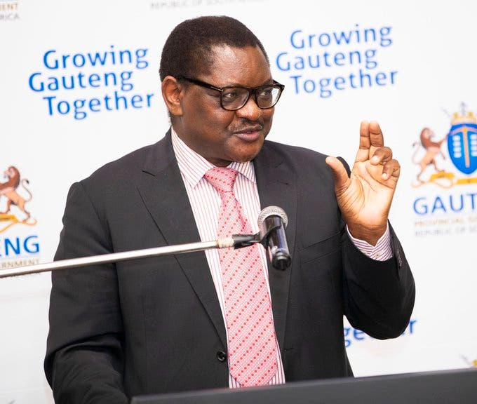 Premier David Makhura