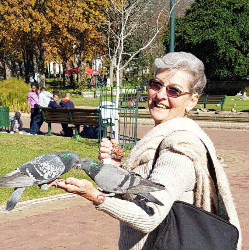 Murdered Breggie Brand, 73, who was abducted along with her husband and daughter from a smallholding in South Africa
