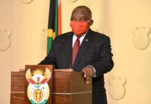 President Cyril Ramaphosa briefs the nation