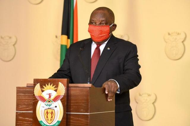 President Cyril Ramaphosa briefs the nation