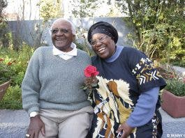 desmond tutu and wife leah tutu