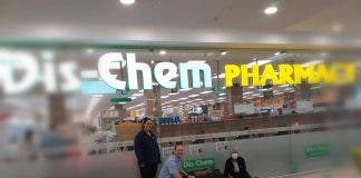dis-chem pharmacy fined