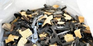 firearms destroyed south africa police