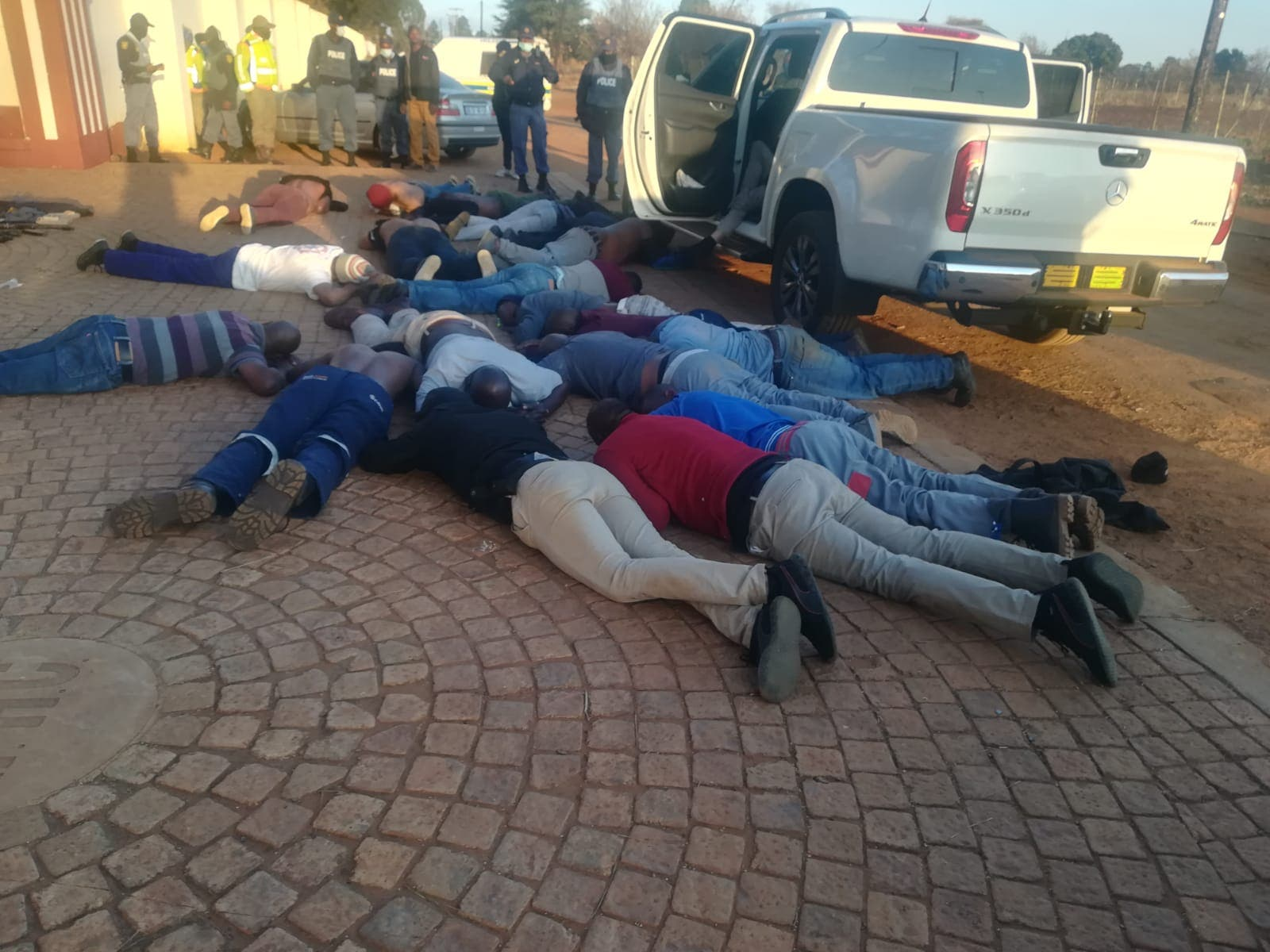 South African church attack: Five dead after 'hostage situation'