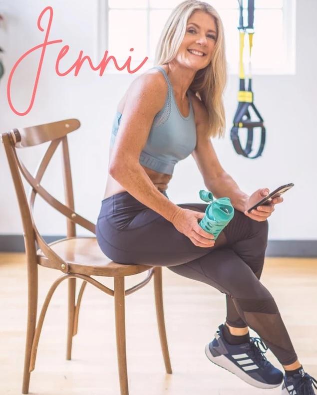 Jenni Rivett personal trainer to stars