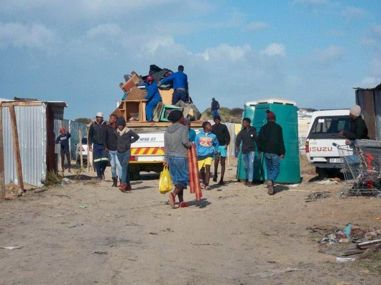 landgrab south africa cape town mfuleni