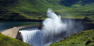 Lesotho Highlands Water Project second phase is expected to deliver water to South Africa by 2026. Photo: Twitter.