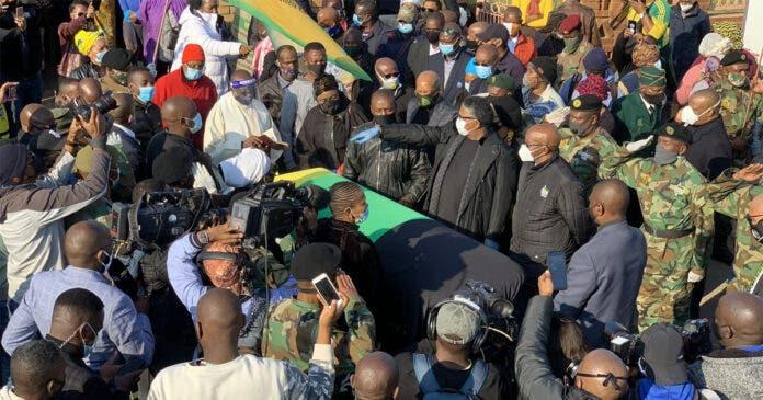 mlangeni-funeral