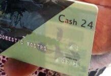 zimbabwe's nostro card