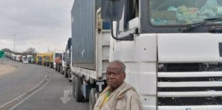 Newancy Mudzimurenga said he had been stuck in the same place since Sunday evening. Photo: Bernard Chiguvare