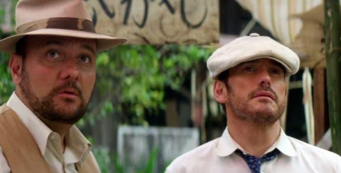 Stelio Savante and Matt Dillon in Running For Grace