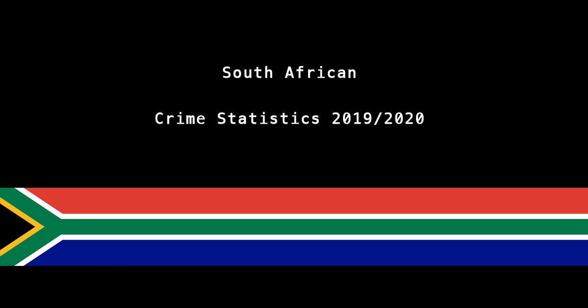 Latest Crime Statistics for South Africa: Increase in Murder Rate -  SAPeople - Your Worldwide South African Community