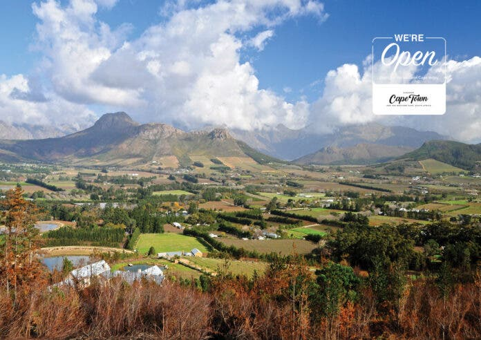 south africa wineleands tourism travel