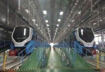 south african railways trains blue gibela