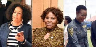 cabinet ministers south africa