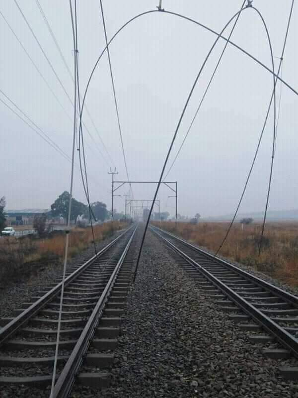 cable theft south africa railways