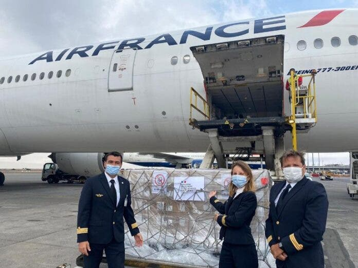 french donations to south africa