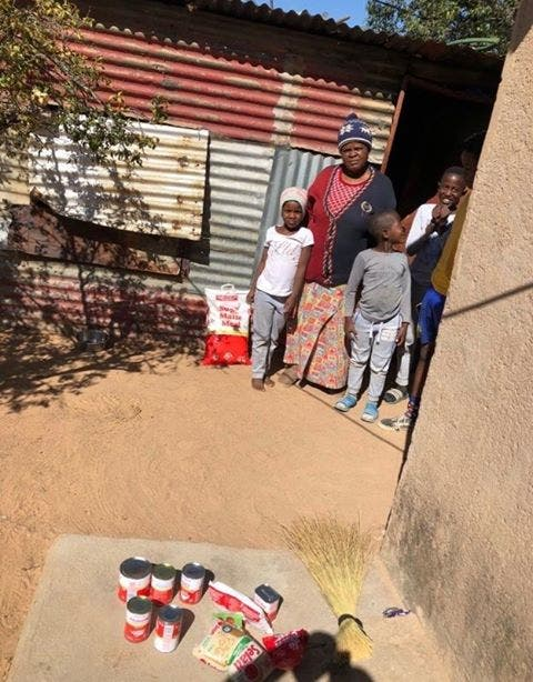 family helped children south africa 2