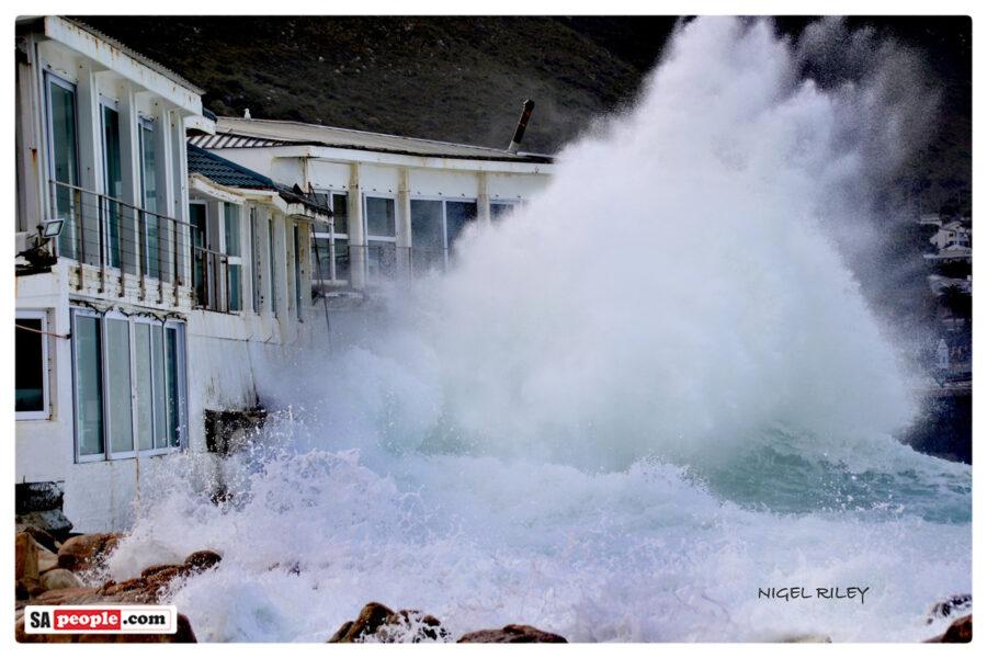 big waves kalk bay harbour house restaurant