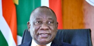 president cyril ramaphosa grow a spine says da