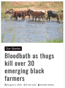 rural farmers kzn killed