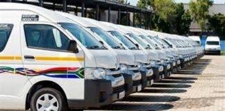 taxi minivan minibus south africa