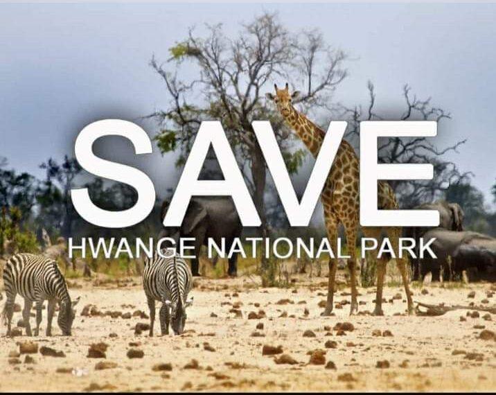 save hwange national park zimbabwe