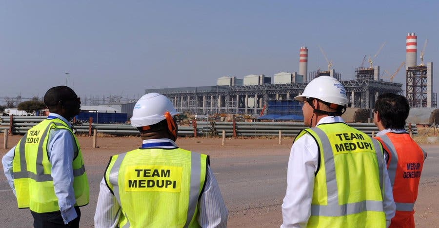 medupi power station south africa-